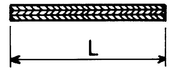 DRIJFRIEM PLAT TRACP503 50X3 PER METER