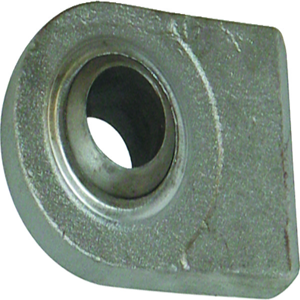 Aanlaseind plat cat 1. 52mm x 44mm