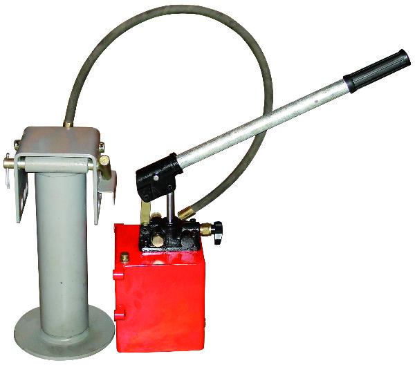 Hydraulische handpomp - steunpootcilinder - 10 ton