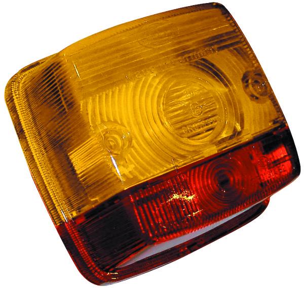 Achterlamp (84x84x51) - Hella