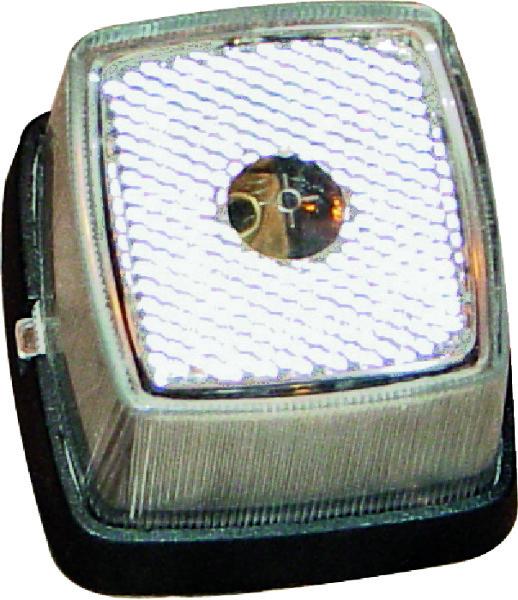 Breedtelamp (Wit) met reflector voor cabine