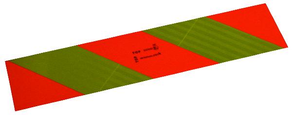REFLECTORPL. 565X132 VR VRACHTAUTO (SET 2)
