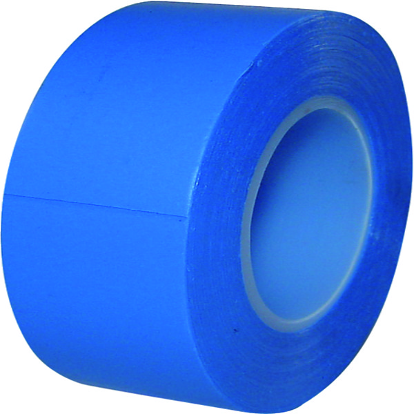 10 ROLLEN PVC TAPE BLAUW