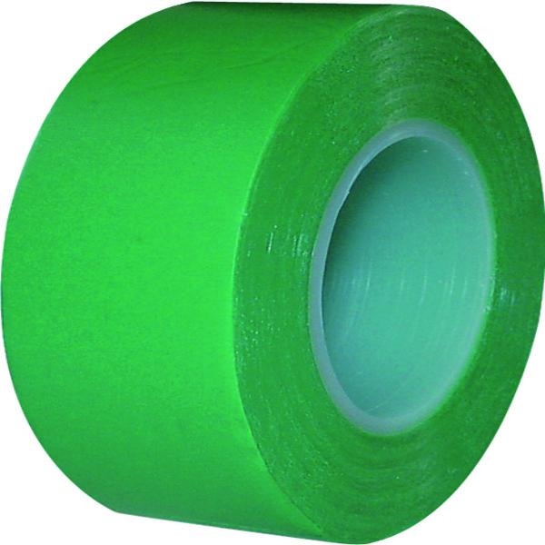 10 ROLLEN PVC TAPE GROEN