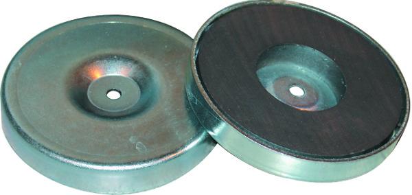 RONDE MAGNETISCHE PIN D.80