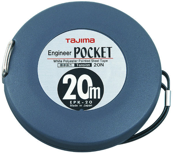MEETLINT ENGINEER POCKET 20MX10MM ABS STAAL