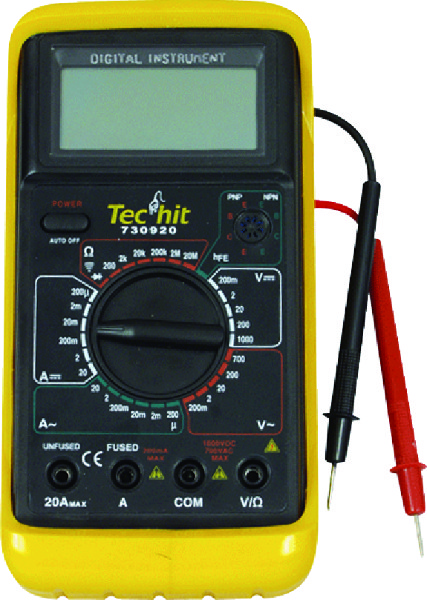 DIGITALE MULTIMETER STANDAARD PRO