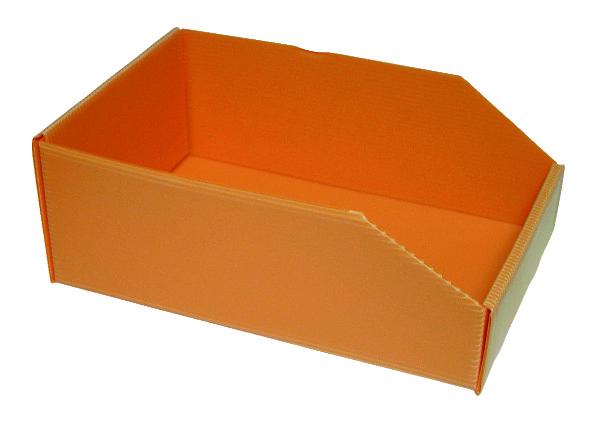 ORANJE DOOS PLASTIBOX 280X180X105/70