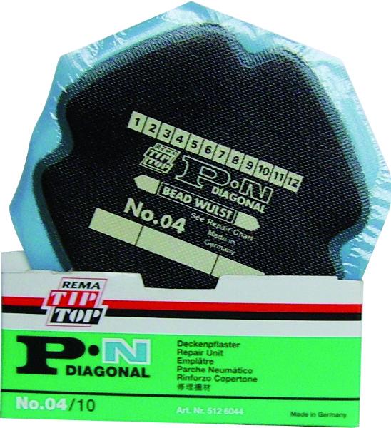 BANDENPLEISTER PN04 5126044 D 120 P/S