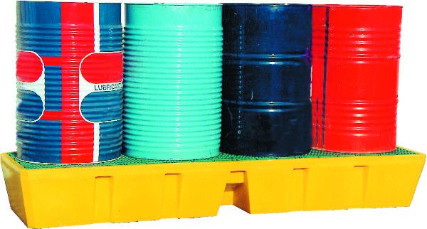 OPVANGBAK LENGTE 4 VATEN PLASTIC ROOSTER