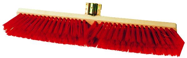 BEZEM PVC MAT ROOD 60CM ZONDER STEEL
