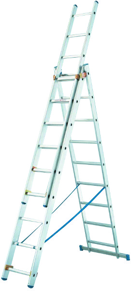 DEELB. LADDER 3 DELEN 2,60M/5,92M STARLINE