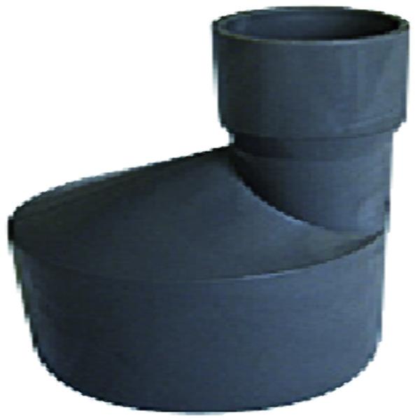 VERLOOPSTUK PVC 125X100