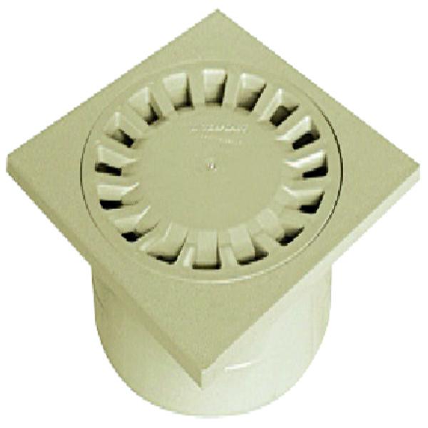 BINNENPLAATSSIFON ABS 200/63X80X100 ZAND