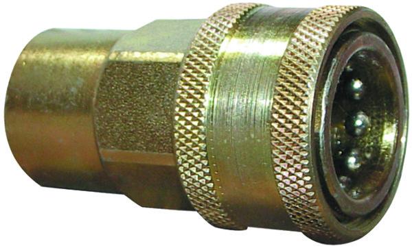 Hydraulische koppeling met kogel