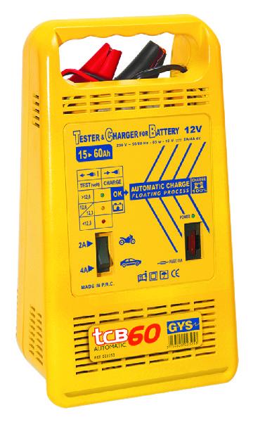 ACCULADER AUTO. 15-60AH 230V TCB60 GYS