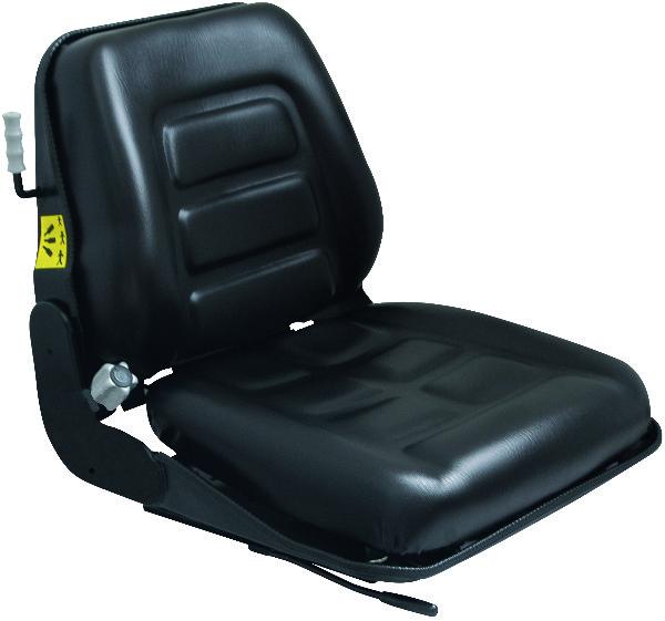 Heftruckstoel Verstevigd Zwart