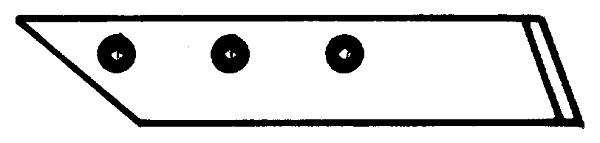 SCHAARPUNT LINKS 622011 KUHN (NIET-ORIG.)