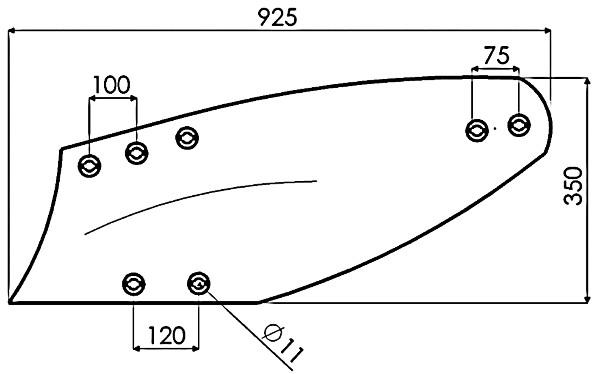 RISTER D.14'' HE. 4HN 172340 G&B (NIET-ORIG.)