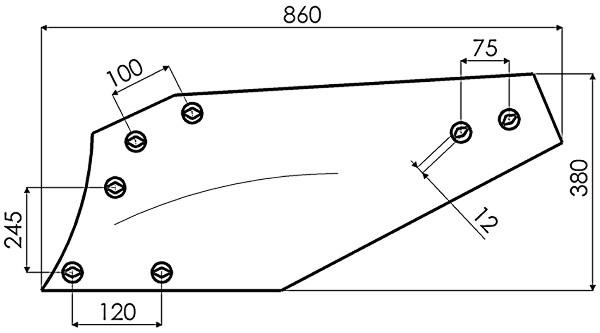 RISTER D.14'' CY.C14S P173404 G&B