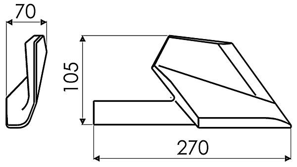 ZOOLIJZER R. 172324 G&B (NIET-ORIG.)