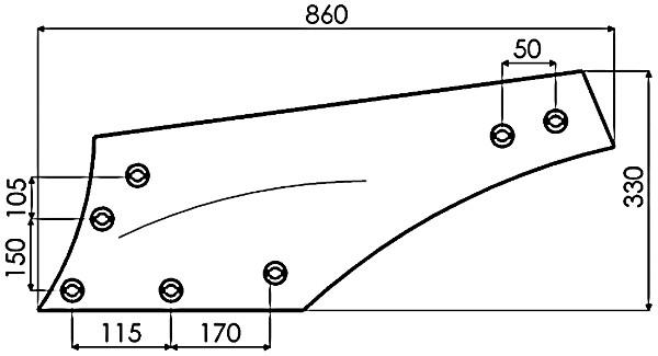 RISTER L. 6387 DURO (NIET-ORIG.)