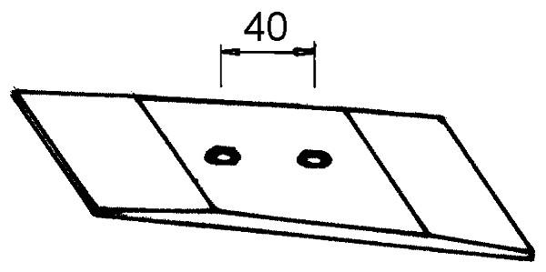 SCHAARPUNT R. B1867673 IHF (NIET-ORIG.)