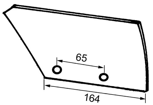 VOORSCHAARRISTER L. 735555 IHF (NIET-ORIG.)