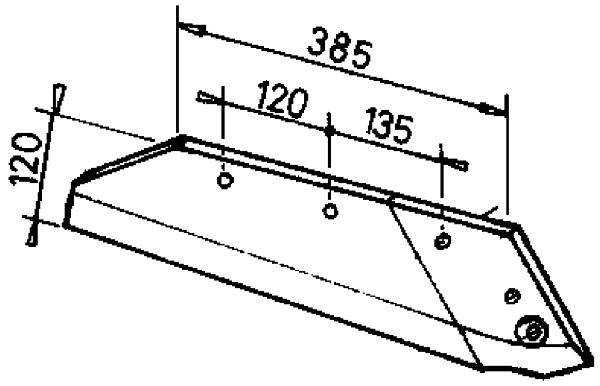 SCHAAR 14-16'' R. M9690290 KRONE (NIET-ORIG.)