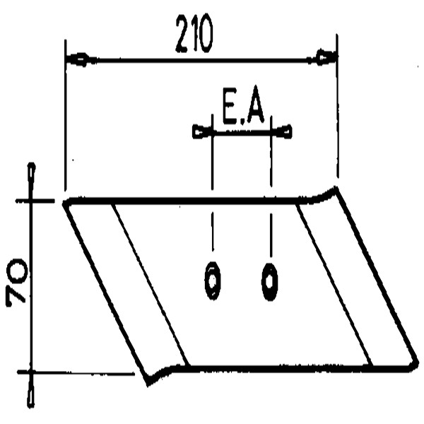 SCHAARPUNT R. H9690980 KRONE (NIET-ORIG.)