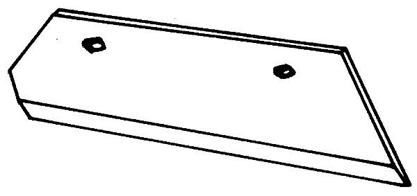 SCHAAR 14'' LINKS B85381 OVERUM (NIET-ORIG.)