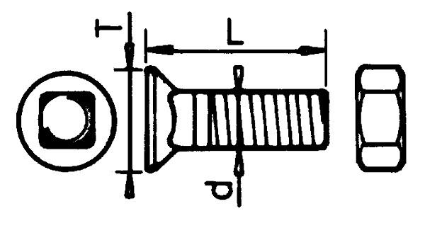 PLOEGBOUT CC A 80°3/8''X35 IHF (25)