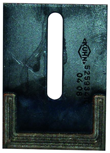 AFSTRIJKER VERSTERKT 90X4X121 - KUHN (ORIG.)