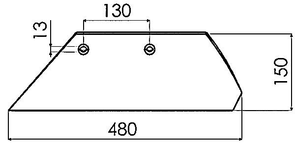 PLOEGSCHAAR R. XL 94600 - ÖVERUM
