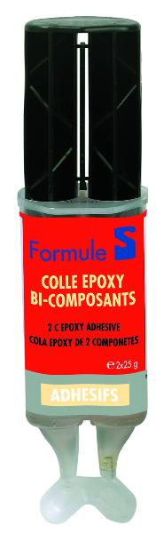 EPOXY LIJM TWEE COMPON., SPUIT 50 G FORMULE S