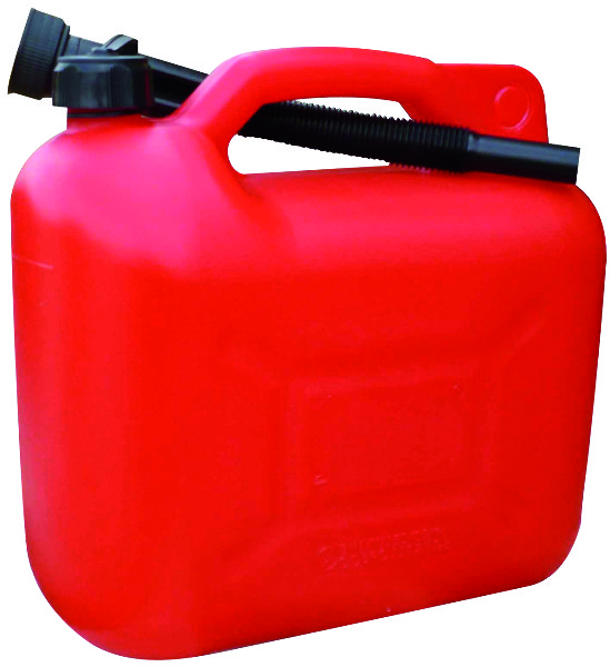 JERRYCAN 10 LITER ECO ROOD