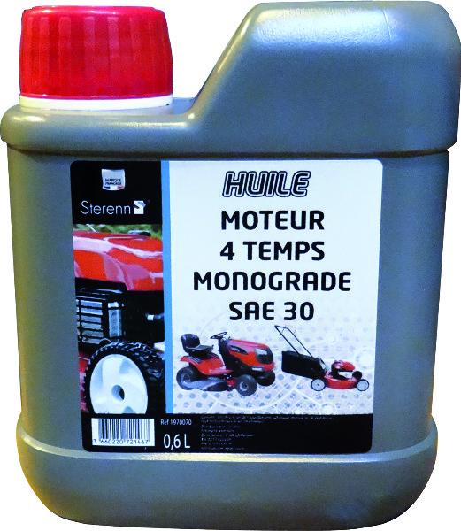 OLIE 4ST MOTORPLOEG.0,6L.MONOGRAAD SAE30