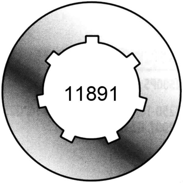 RING TANDWIEL OREGON 325 P.8 TANDEN