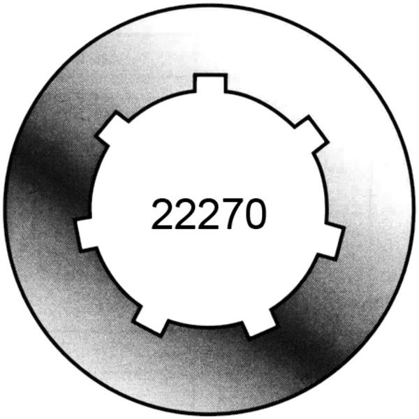 RING TANDWIEL OREGON S.7 TANDEN